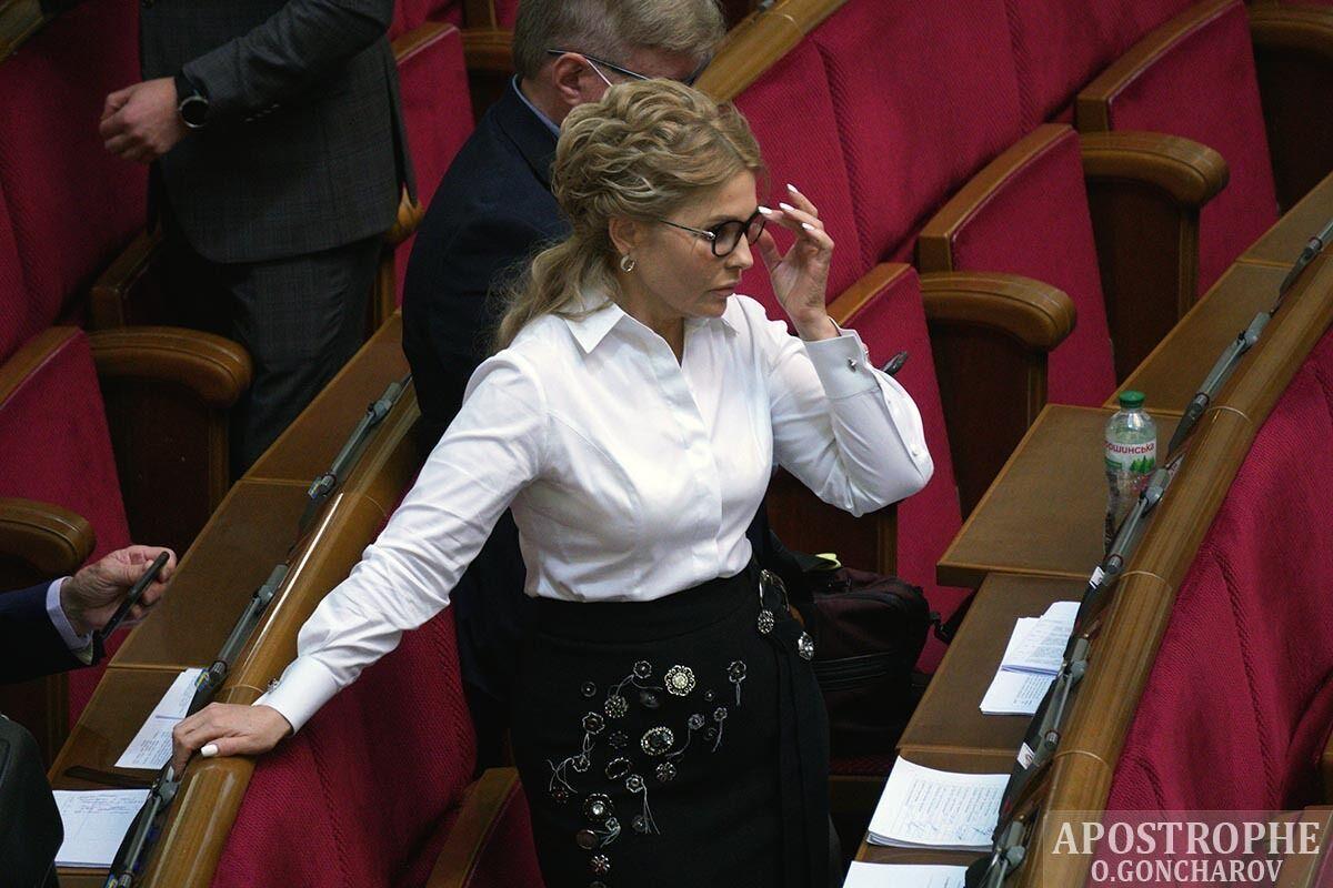 Тимошенко показала новый образ.
