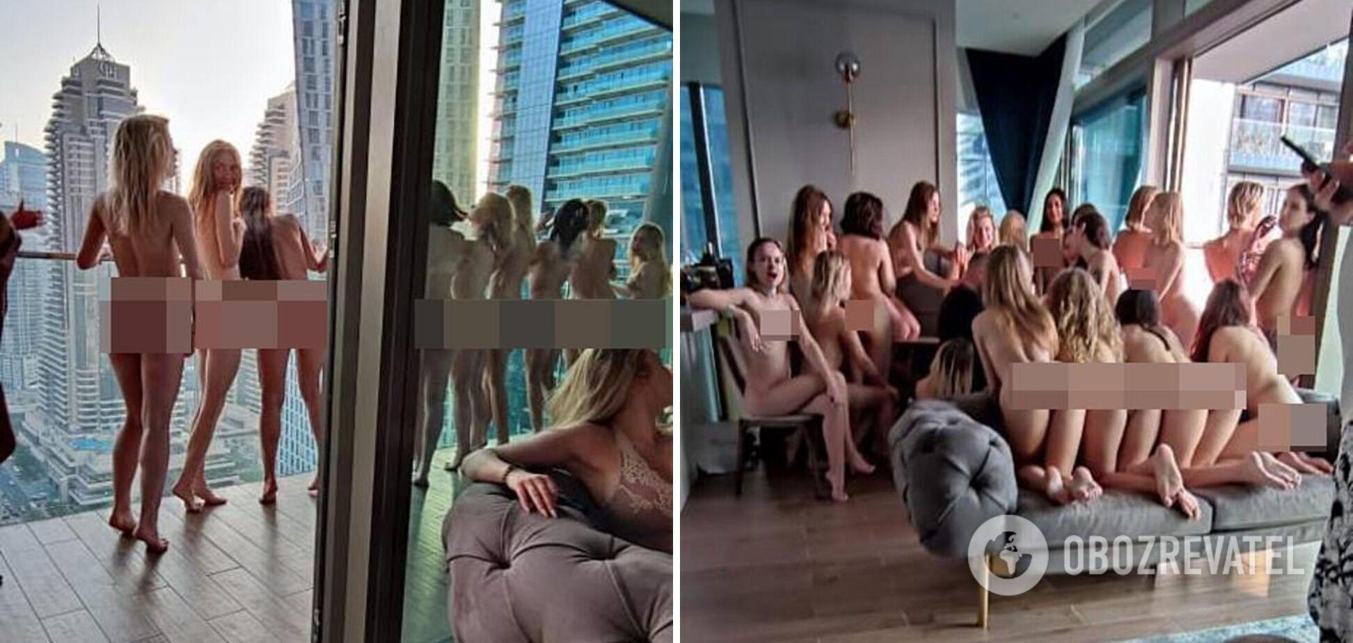 Моделі, яких заарештували в Дубаї за голу зйомку на балконі готелю