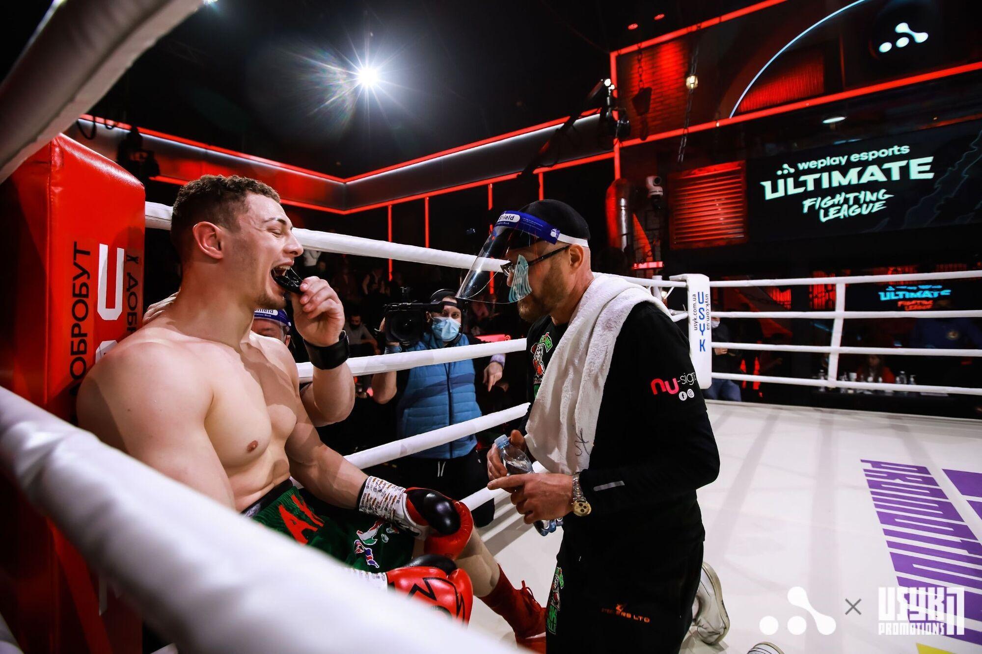 Ultimate Boxing Night прошел без зрителей и с соблюдением карантинных мер безопасности