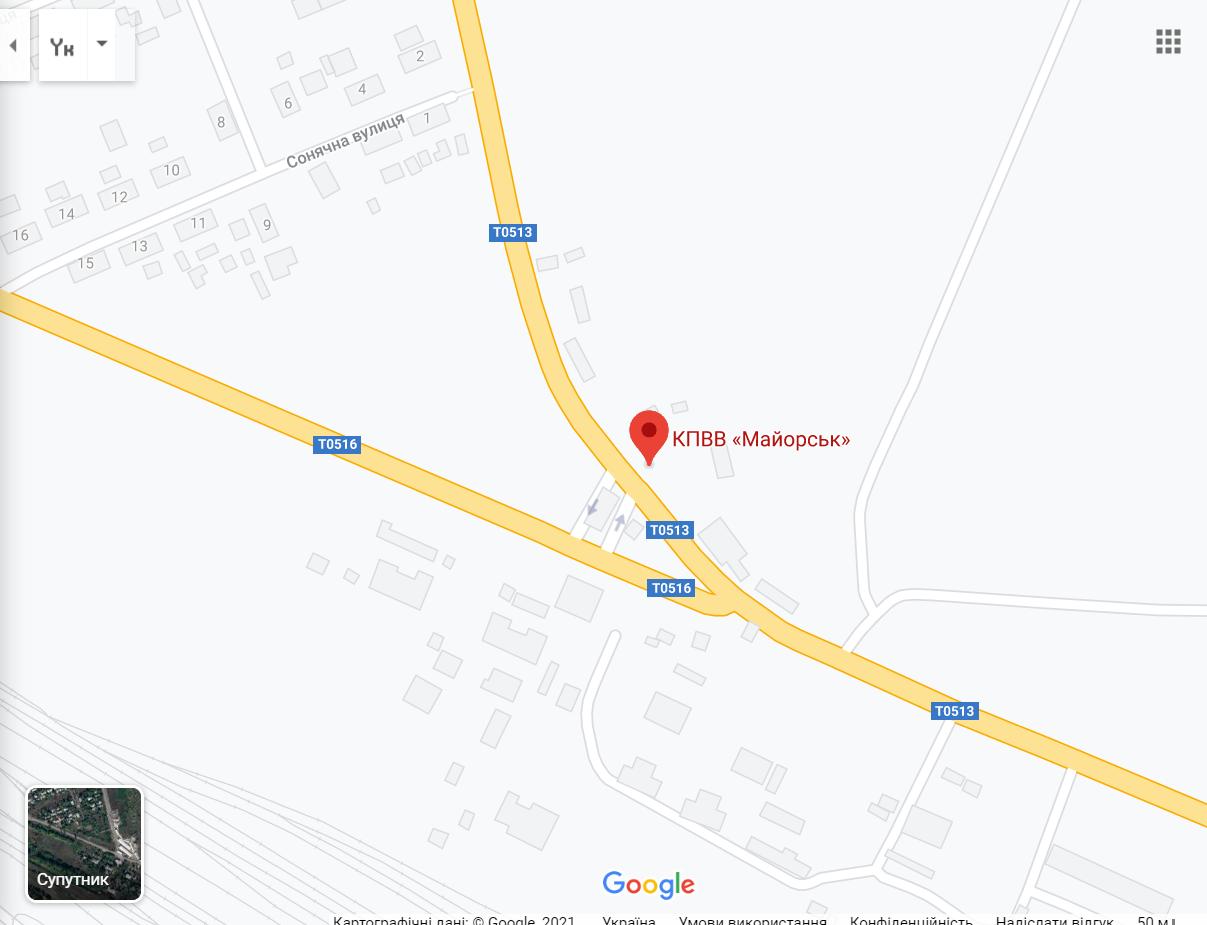 Воин ВСУ погиб возле Майорска