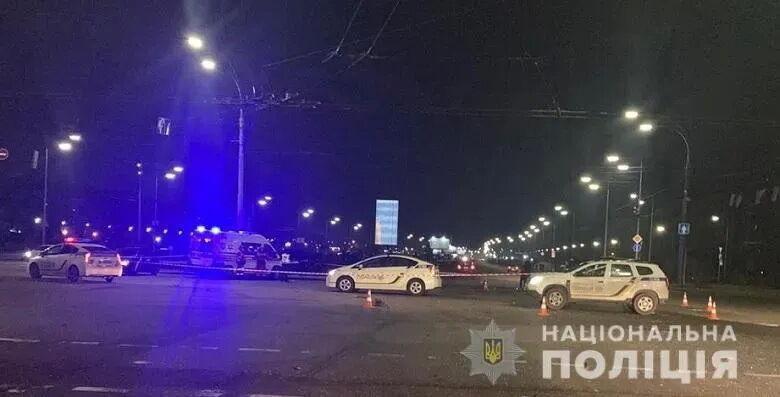 Поліція на місці ДТП.