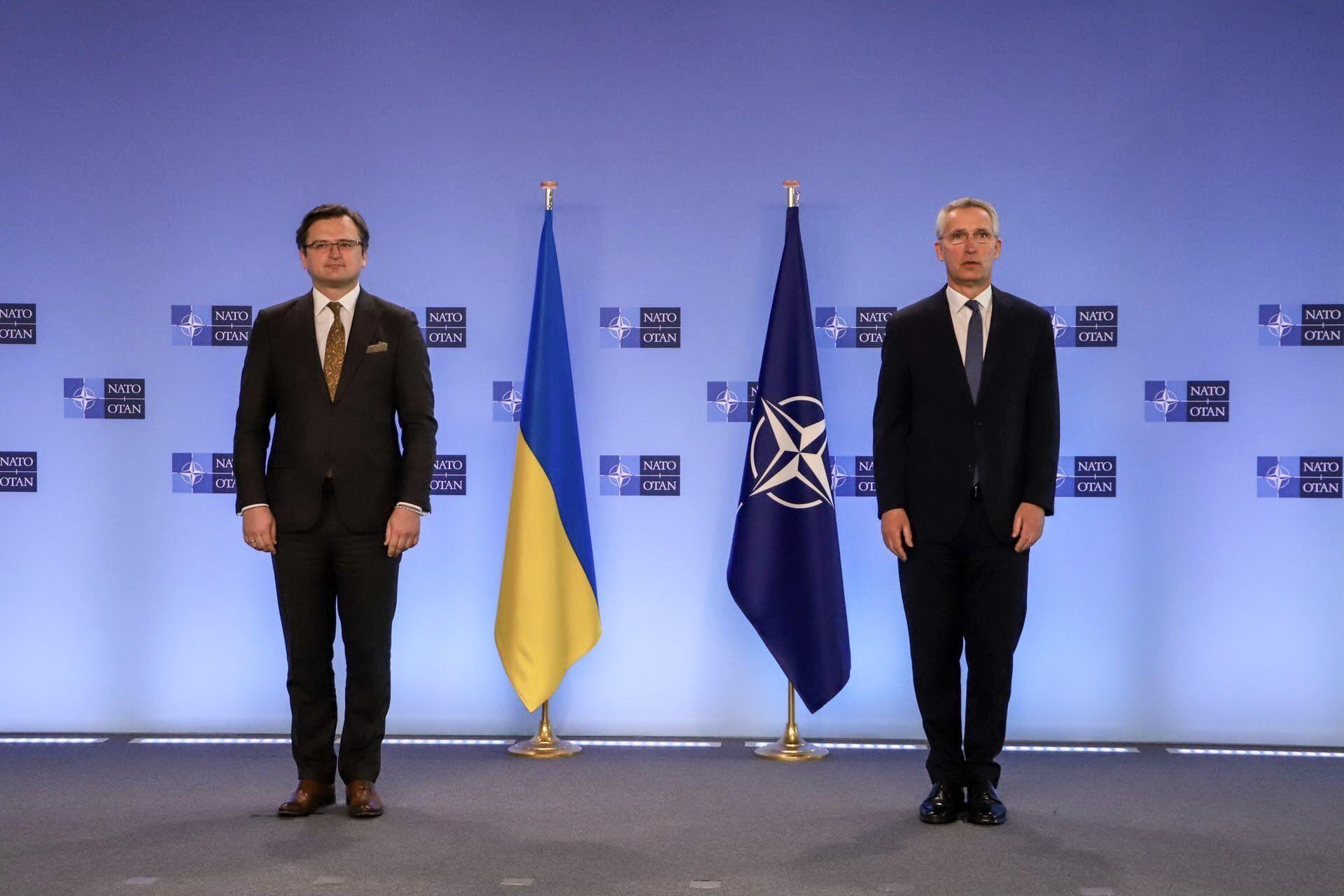 Дмитрий Кулеба и Йенс Столтенберг