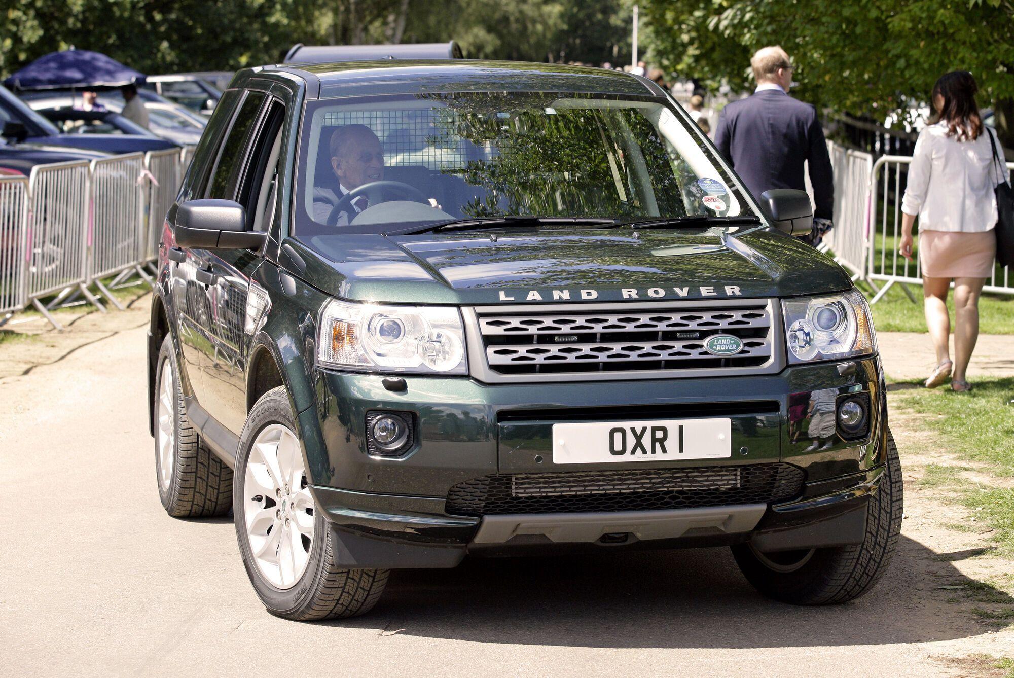 Land Rover Freelander, на котором Филипп попал в аварию