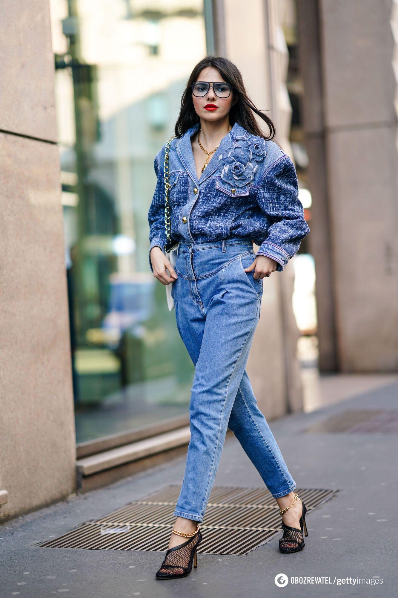 Модный джинсовый total look
