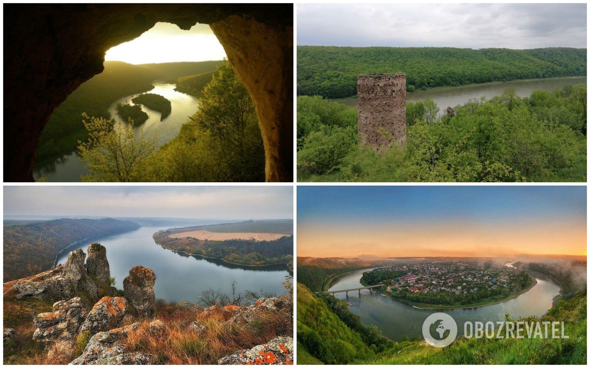Каньон находится на границе четырех областей: Ивано-Франковской, Хмельницкой, Черновицкой и Тернопольской