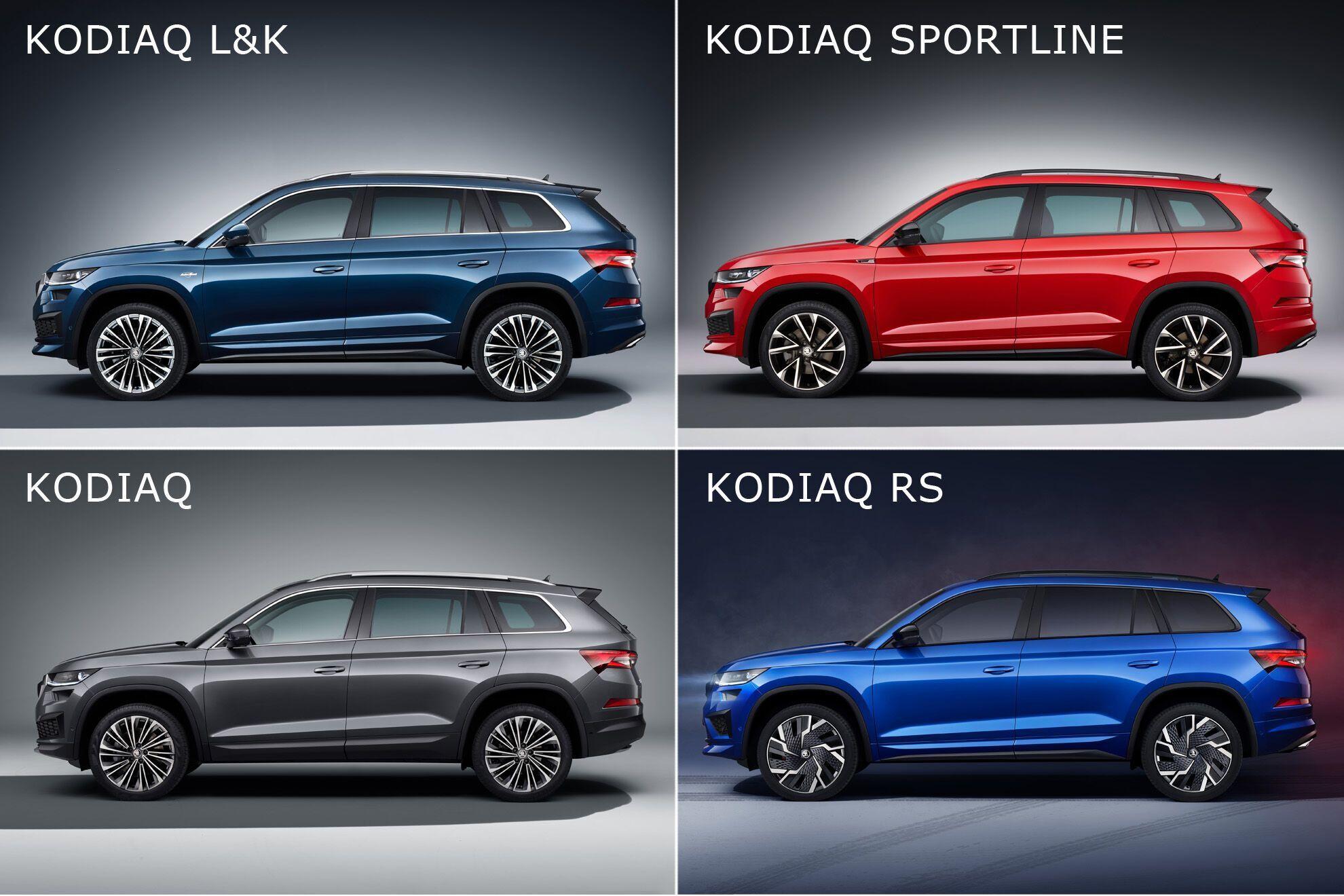 Обновленный Kodiaq предложен в нескольких версиях и комплектациях
