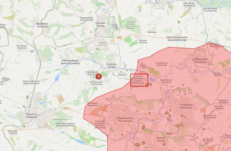 Инцидент произошел в районе оккупированного Золотого-5.