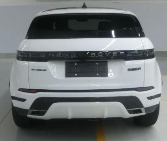 Задня частина Range Rover Evoque