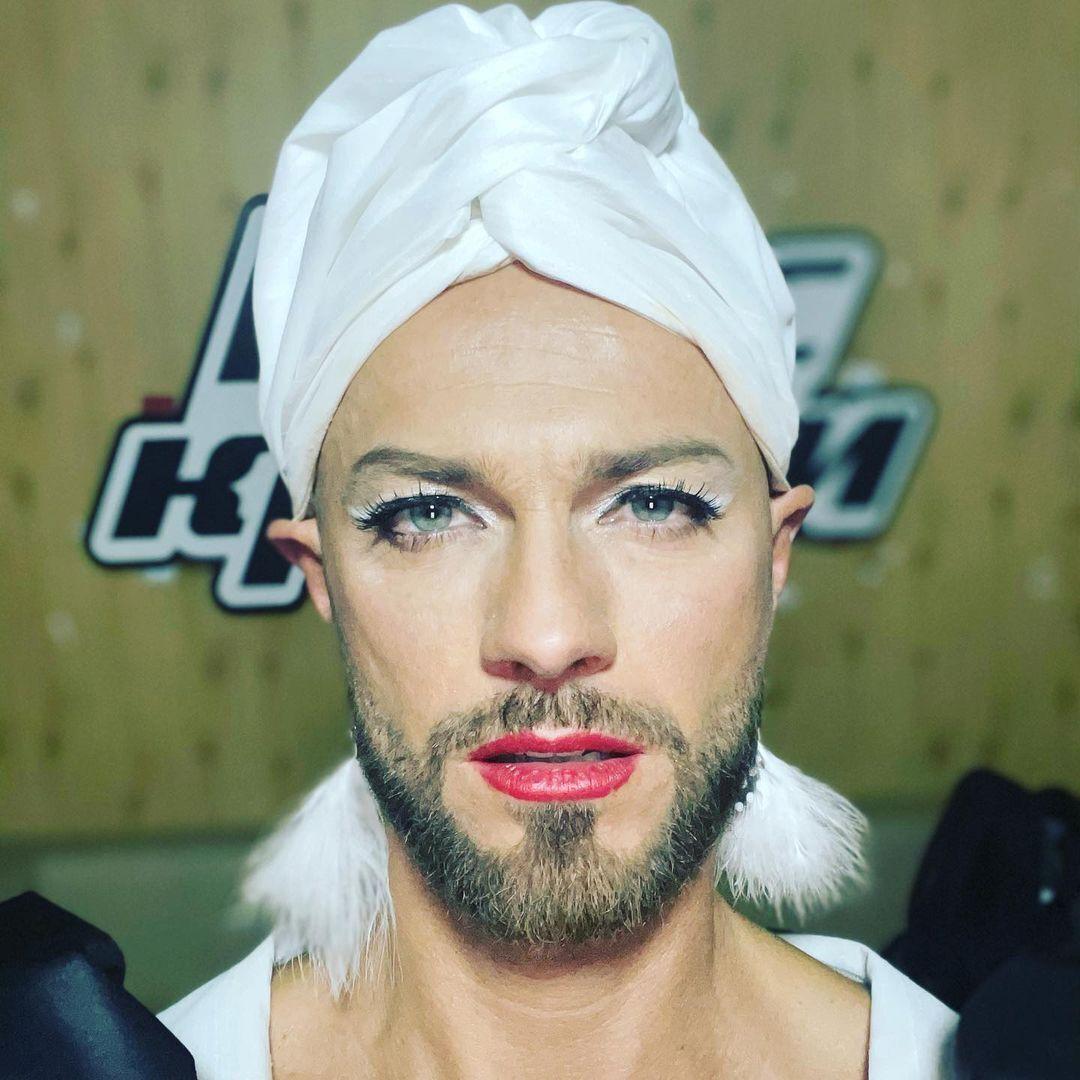 Влад Яма показался с макияжем