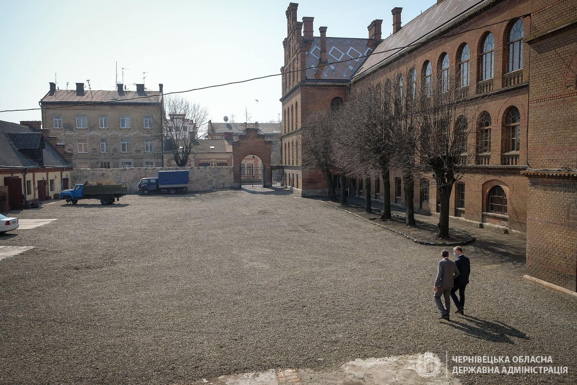 Будет обновлен хозяйственный двор университета