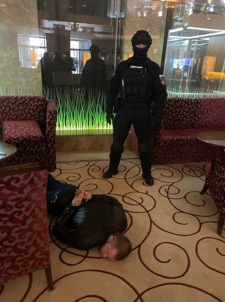 Поліція зловила зловмисників.