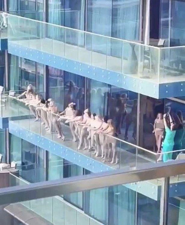 Моделі, яких заарештували в Дубаї за голу зйомку