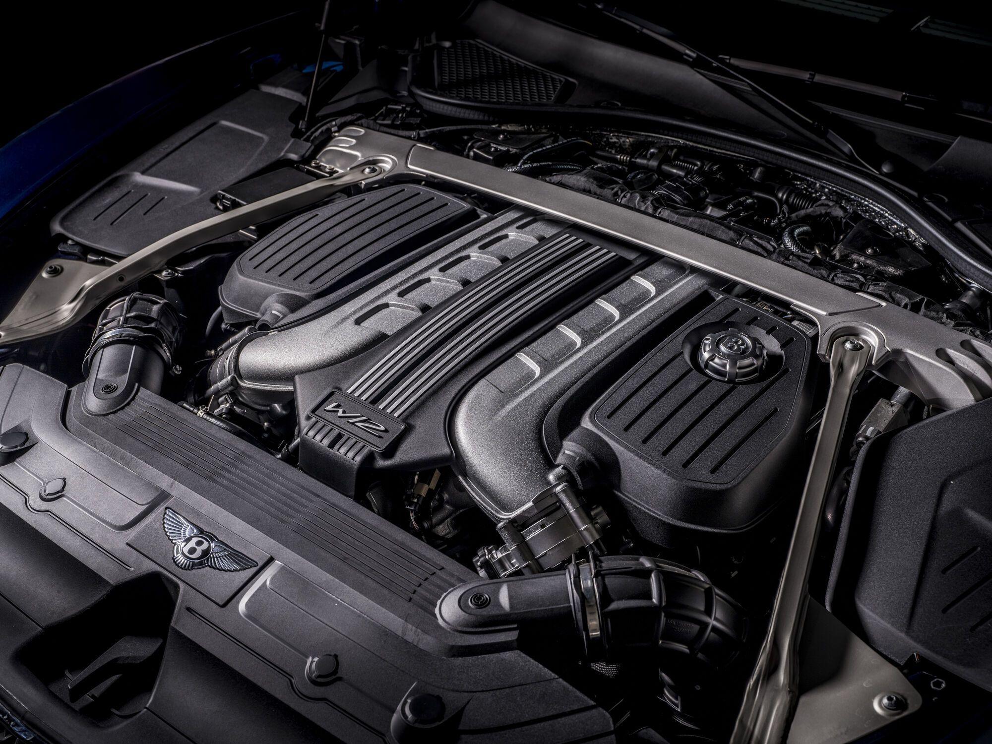 6,0-литровый двигатель W12 TSI