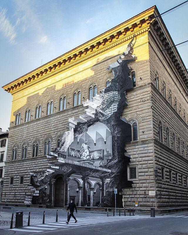 """28-метровое творение художника получило название """"Рана"""""""