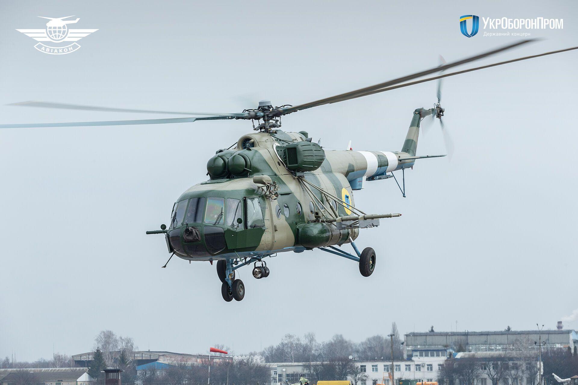 Модернізований гелікоптер Мі-8МТ