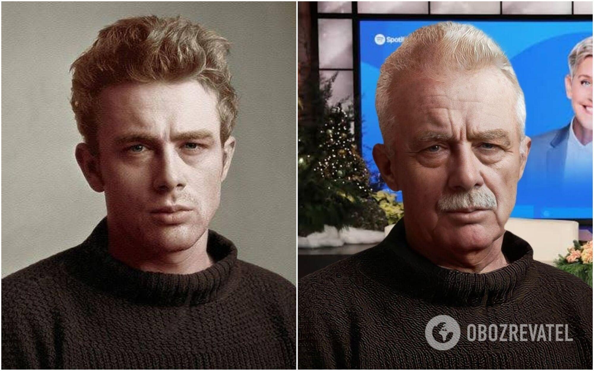 Как бы выглядел Джеймс Дин в 2021 году