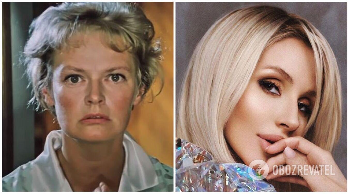 Нина Гребешкова и Светлана Лобода, 38 лет