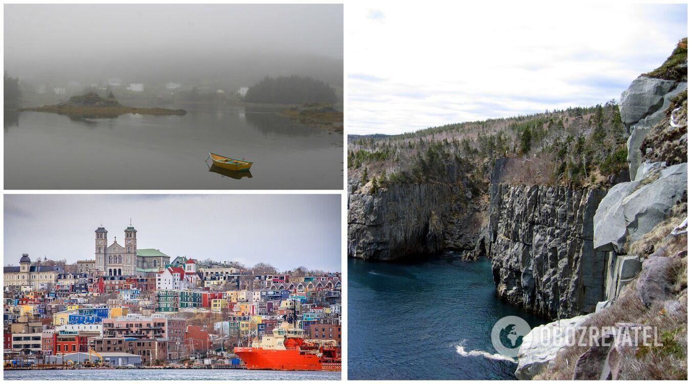 Містечко біля острова Ньюфаундленд відоме як найтуманніше місце у світі
