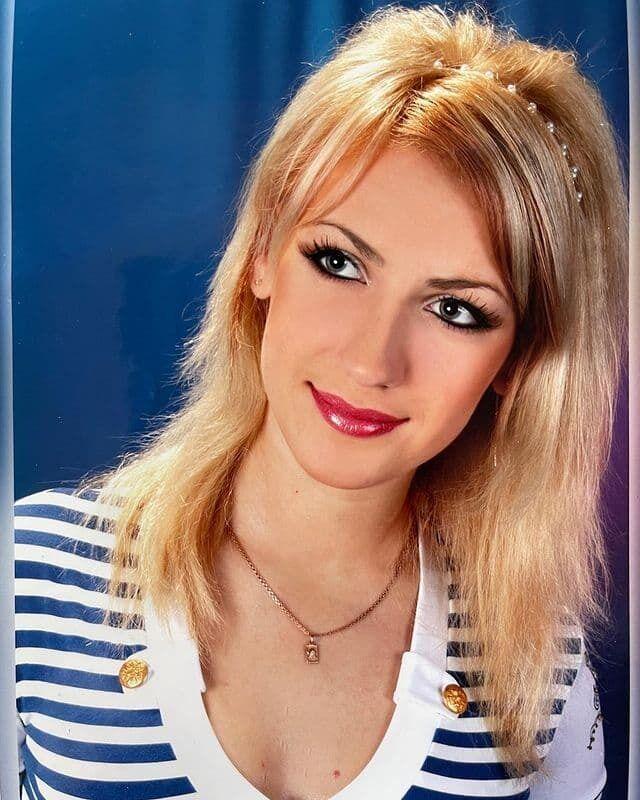Леся Никитюк в 18 лет