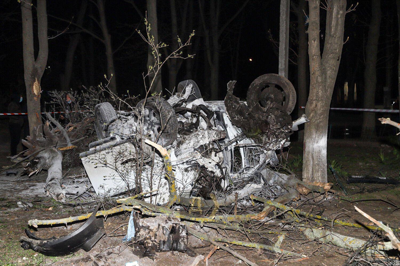 Авария произошла на Люстдорфской дороге.