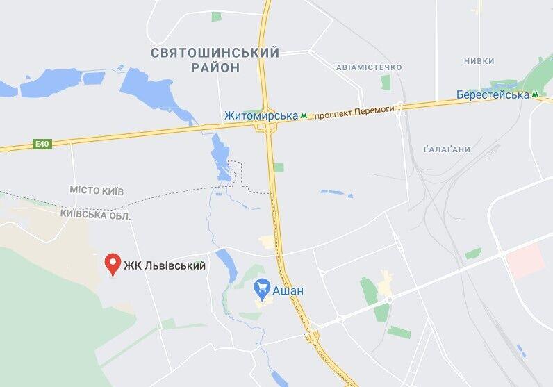 Пожежа трапилася в Петропавлівській Борщагівці
