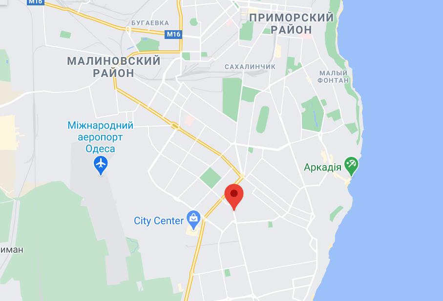 Люстдорфская дорога в Одессе.