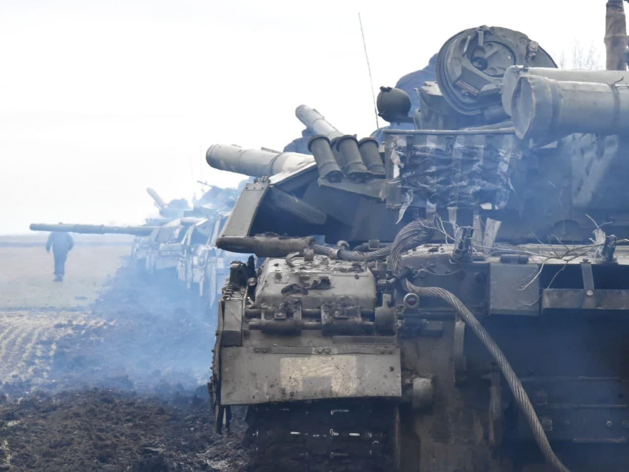 Танкові резерви ЗСУ на навчаннях протидіяли спробі прориву лінії оборони