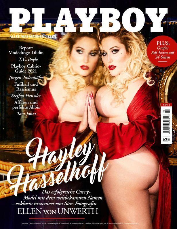 Хейли Хассельхофф снялась для Playboy.