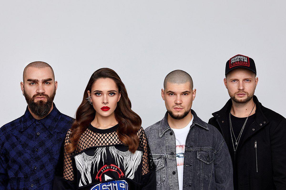 Украинская рок-группа The HARDKISS