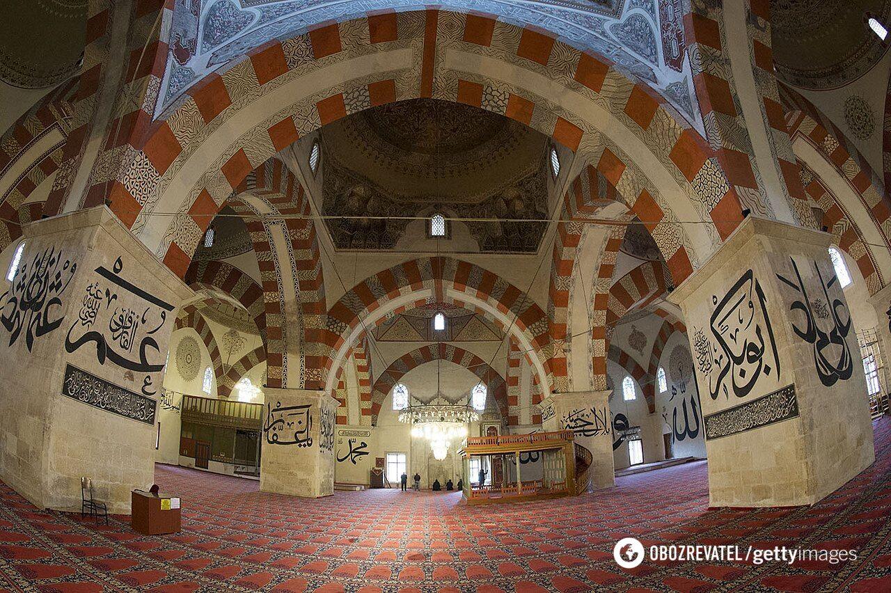 Старая мечеть в Эдирне