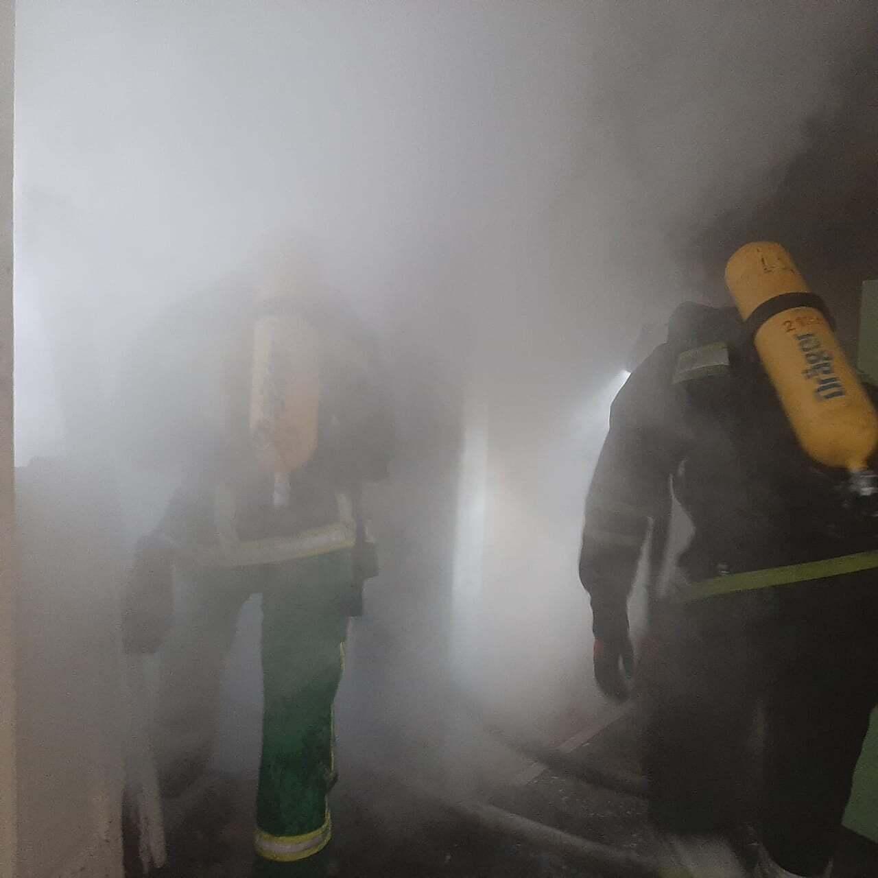 На Прикарпатье загорелась больница, эвакуировали почти 40 человек. Фото