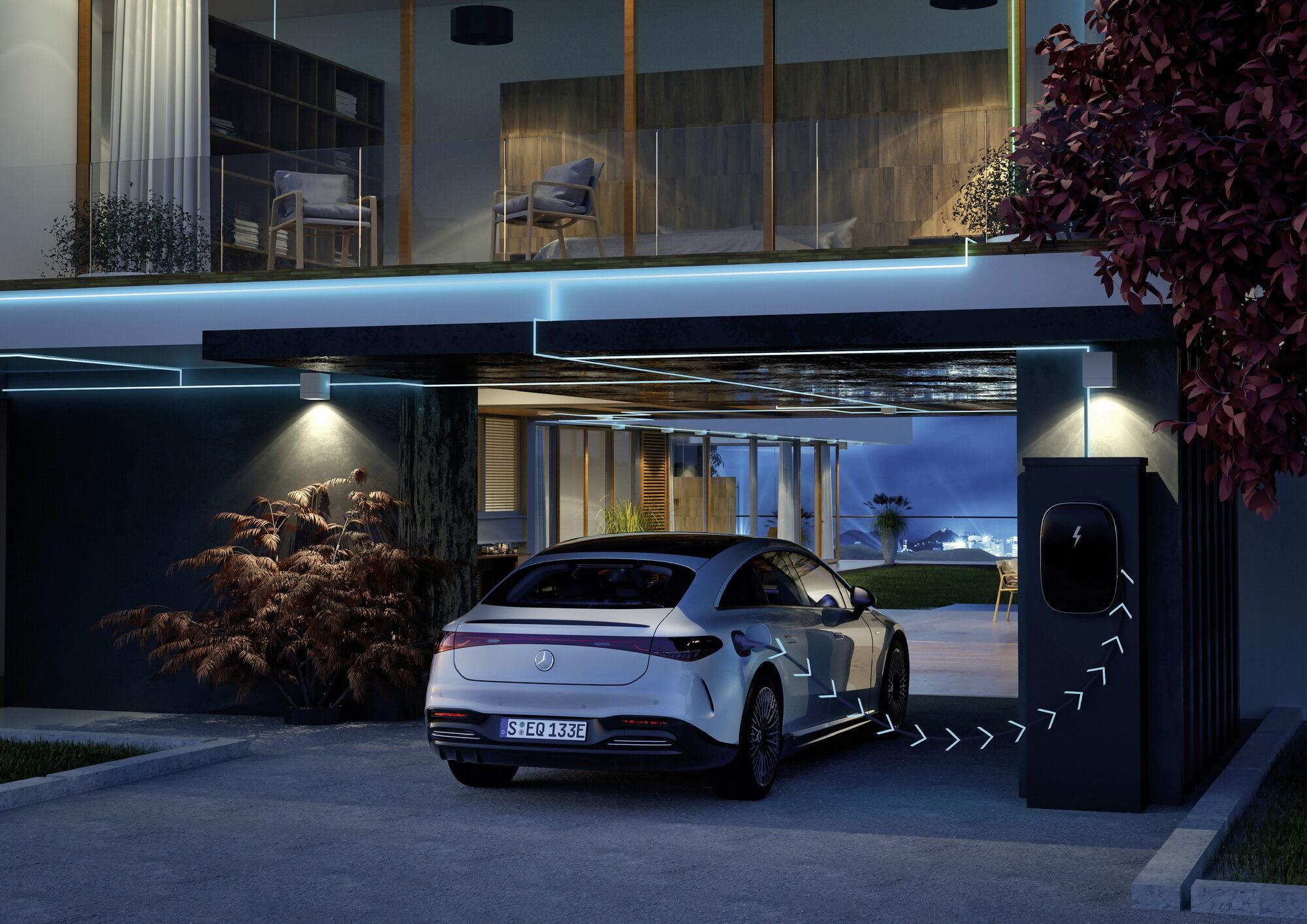EQS першим серед електромобілів марки отримав акумуляторну батарею нового покоління з більш високою енергетичною щільністю