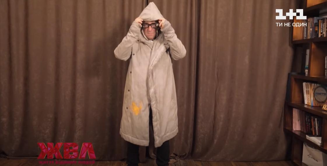 Корогодский в пальто