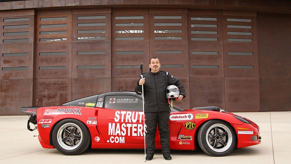 Дэн Паркер и его рекордный 800-сильный Corvette