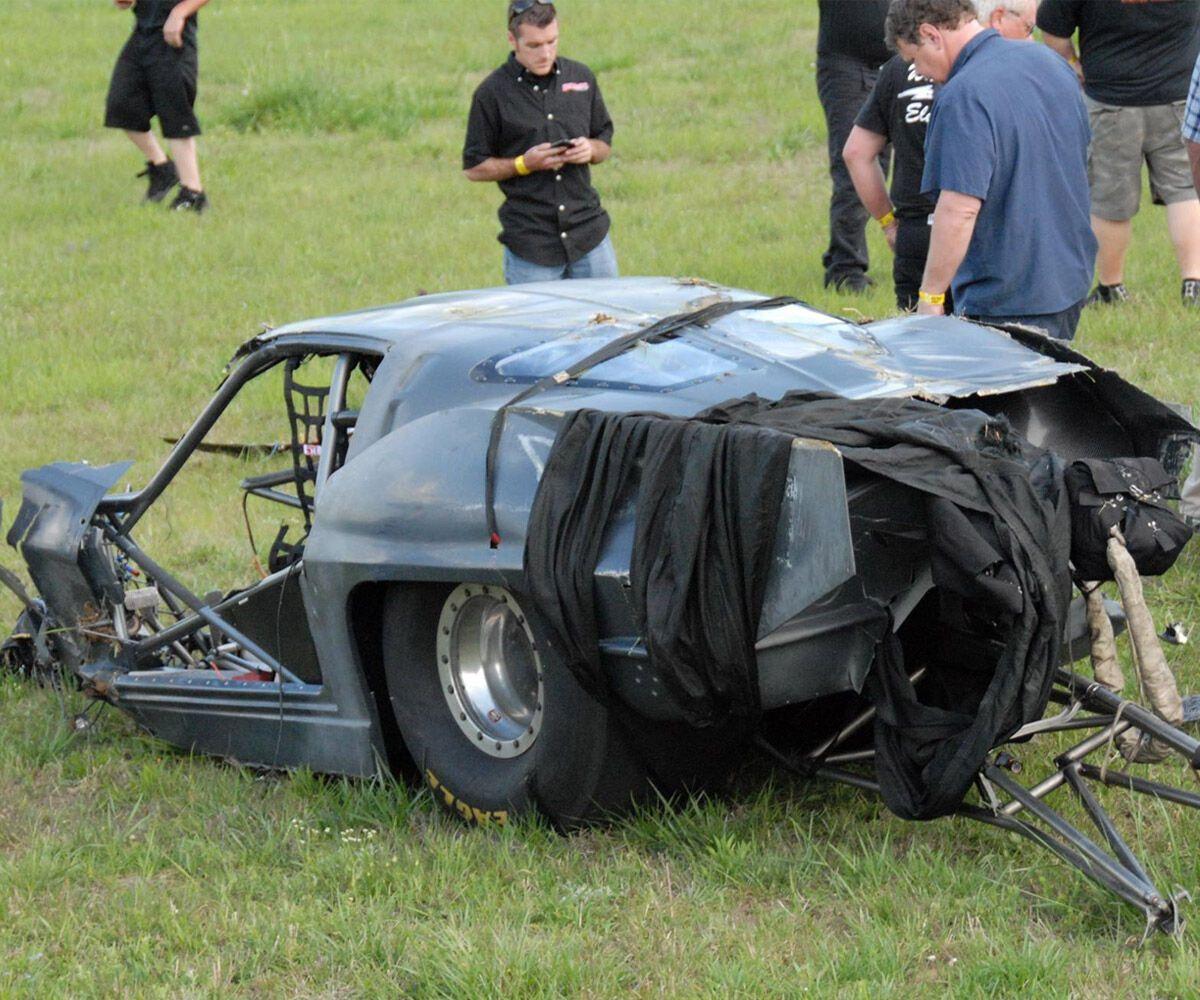 Паркер потерял зрение в результате аварии в гонках