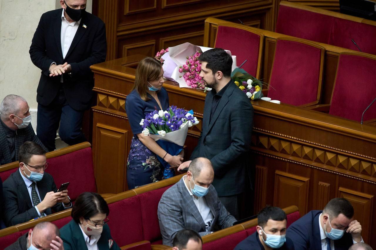 Анна Пуртова й Олександр Качура.