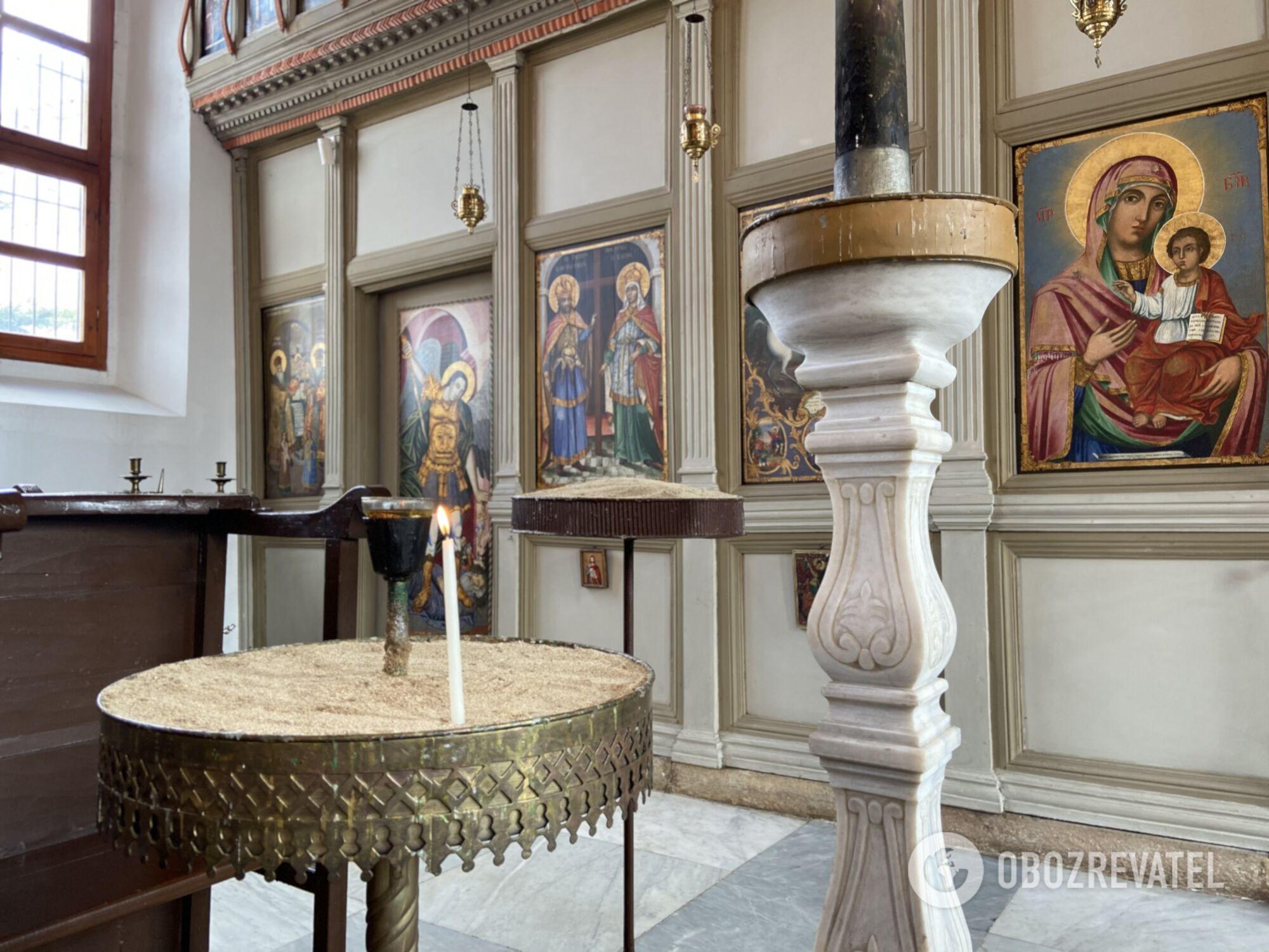 Болгарский православный храм св. Георгия в Эдирне