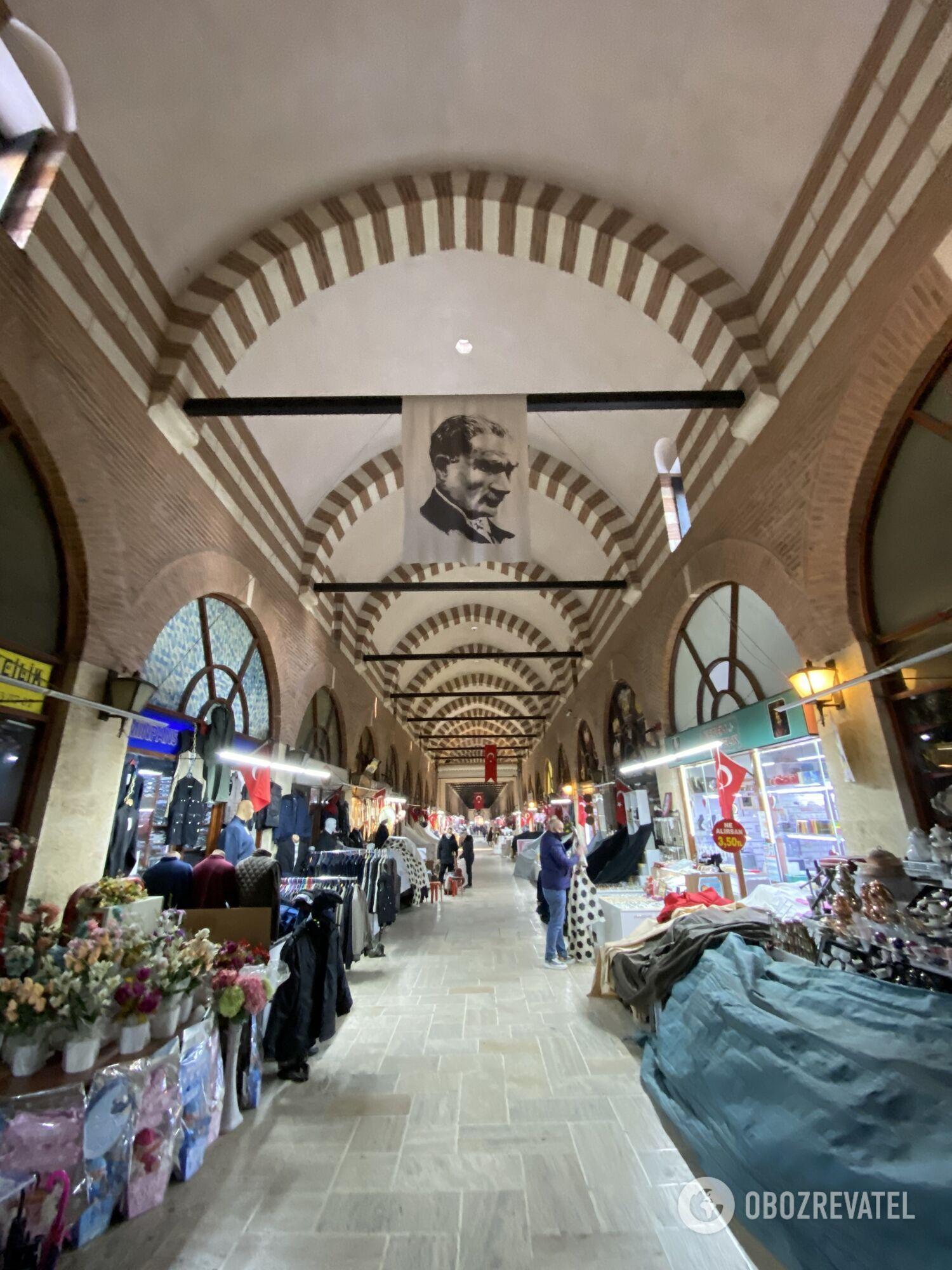 Крытый рынок в Эдирне