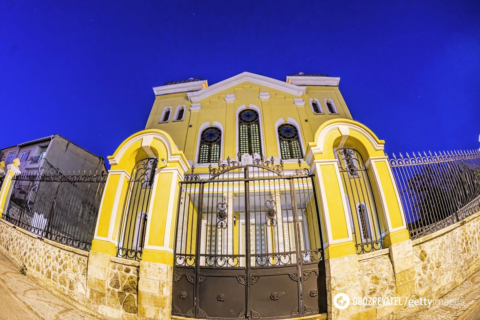 Большая синагога в Эдирне
