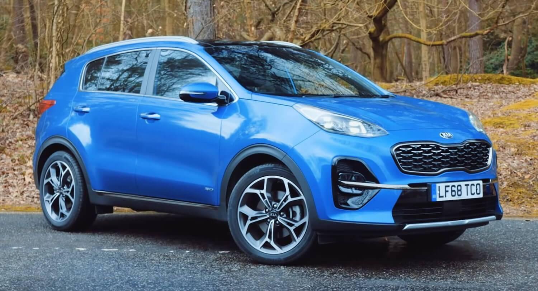 11% новых авто были синими, и лидер среди них – Kia Sportage