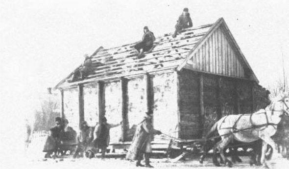 Разбор коморы украинца в селе Удачное на Донетчине в 30-е годы