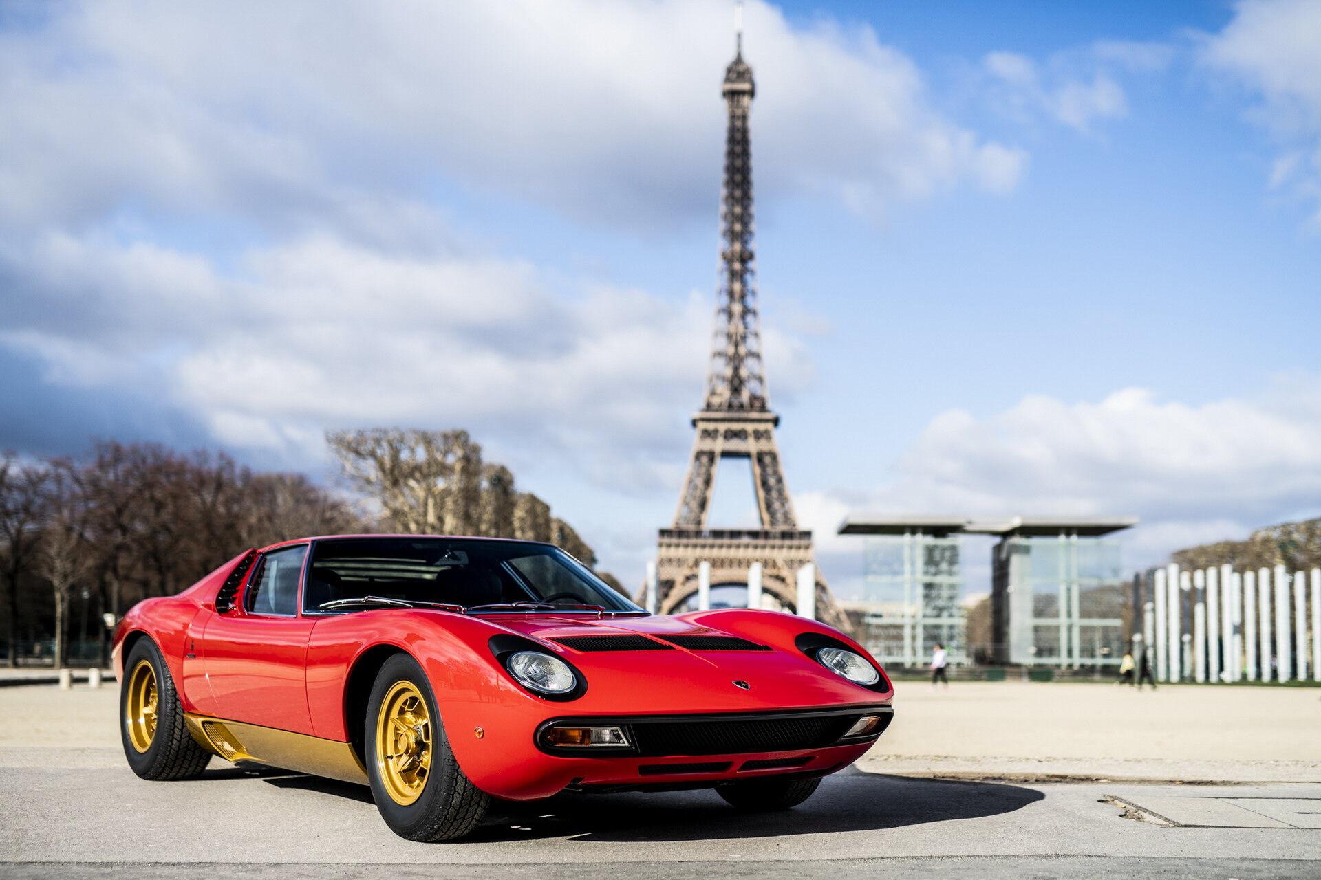 Дебют Miura SV відбувся 50 років тому на Женевському автосалоні.