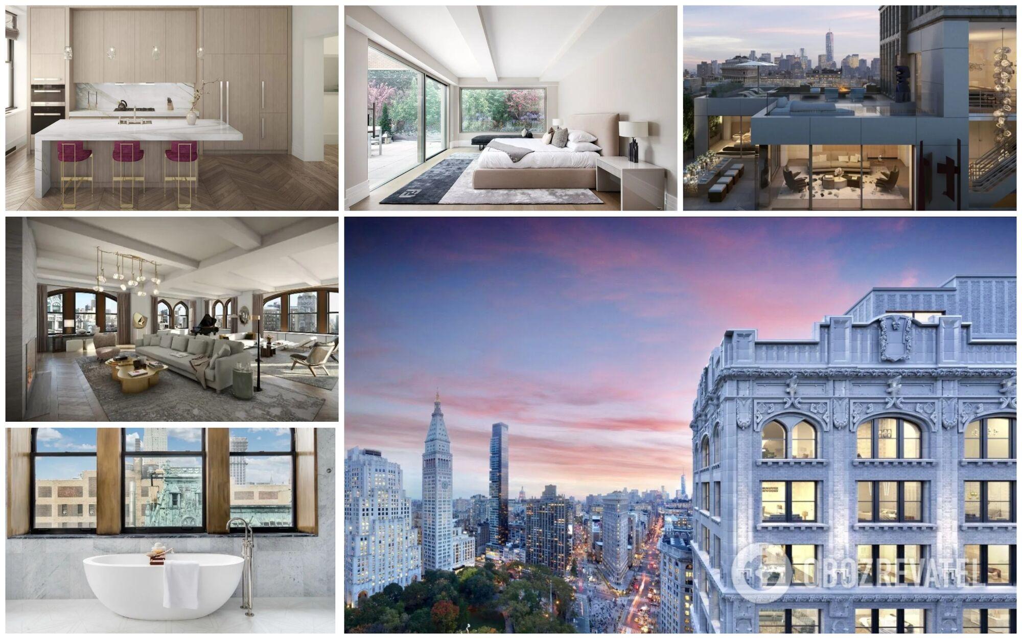 Джефф Безос живет в трехэтажном пентхаусе в центре Нью-Йорка