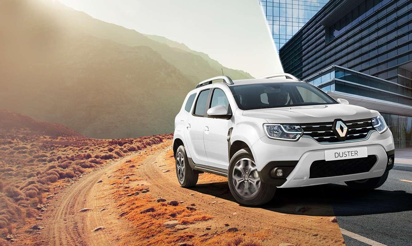 Renault Duster – самое популярное белое новое авто в Украине