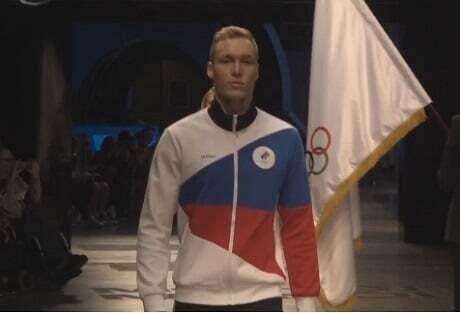 Форма олимпийской сборной России