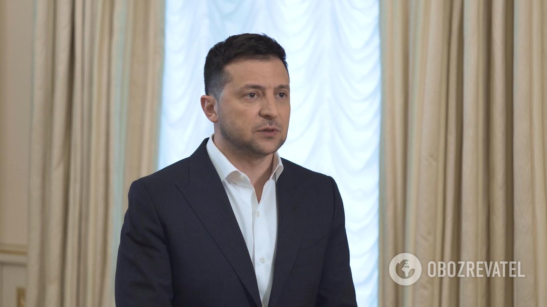 Владимир Зеленский рассказал о заседании СНБО
