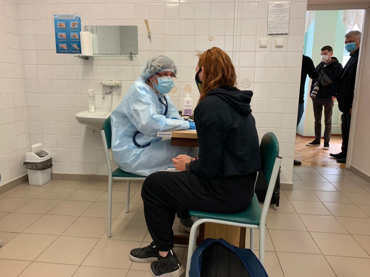Вакцинация украинских спортсменов.