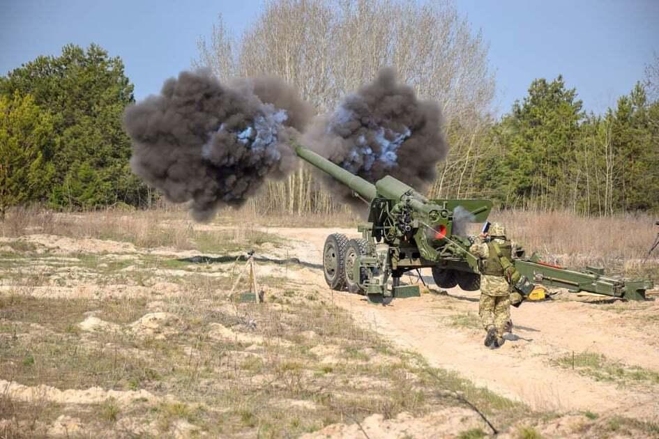 Артиллеристы ВСУ готовятся к учениям Dynamic Front 2021