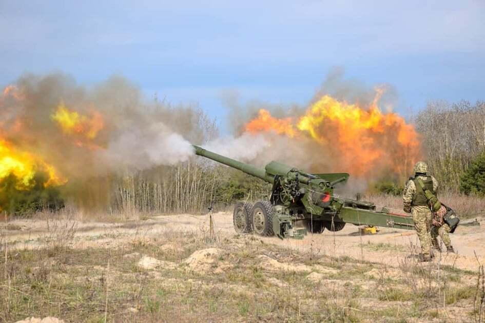 Артиллеристы ВСУ и канадцы проходят совместные учения