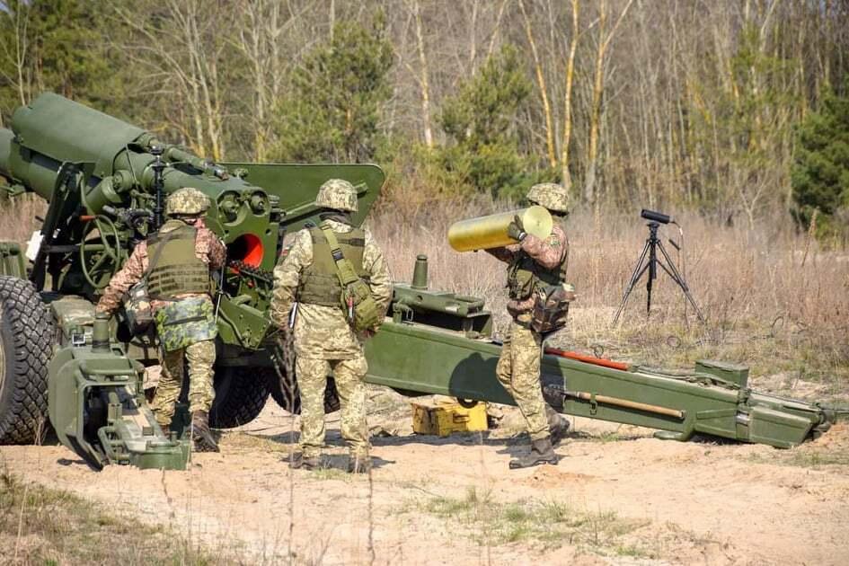 26 артиллерийская бригада имени генерал-хорунжего Романа Дашкевича на стрельбах